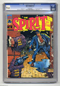 Magazines:Superhero, The Spirit #6 (Warren, 1975) CGC NM+ 9.6 Off-white pages.Squarebound issues begin. Features eight pages in color. WillEisn...