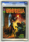 Magazines:Horror, Vampirella #2 (Warren, 1969) CGC NM- 9.2 Off-white to white pages. First appearance of Vampirella's Cousin Evily. Bill Hughe...