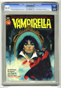 Bronze Age (1970-1979):Horror, Vampirella #18 (Warren, 1972) CGC VF+ 8.5 Cream to off-white pages.2nd full appearance of Dracula in title. Overstreet 2005...