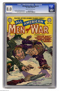 Golden Age (1938-1955):War, All-American Men of War #2 (DC, 1952) CGC VF 8.0 Cream to off-whitepages. Jerry Grandenetti cover. Grandenetti, Bernie Krig...