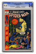 Bronze Age (1970-1979):Superhero, The Amazing Spider-Man #96 (Marvel, 1971) CGC VF/NM 9.0 Off-white pages. Drug story not approved by the Comics Code Authorit...