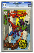 Bronze Age (1970-1979):Superhero, The Amazing Spider-Man #97 (Marvel, 1971) CGC VF+ 8.5 White pages. Green Goblin cover appearance. Issue not approved by the ...