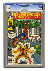 The Amazing Spider-Man #208 (Marvel, 1980) CGC NM+ 9.6 White pages. John Romita Jr. and Al Milgrom cover and art. Overst...