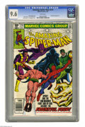 Modern Age (1980-Present):Superhero, The Amazing Spider-Man #214 (Marvel, 1981) CGC NM+ 9.6 White pages. Sub-Mariner appearance. John Romita Jr. cover and art. O...