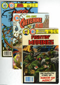 Bronze Age (1970-1979):Miscellaneous, Charlton Bronze Age Box Lot (Charlton, 1967-80) Condition: AverageVG/FN. This full short box contains approximately 120 mis...