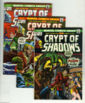 Bronze Age (1970-1979):Horror, Crypt of Shadows Group (Marvel, 1973-75) Condition: Average VF/NM.This group includes #2, 3, 5, 14, 15, and 16. Approximate... (6Comic Books)