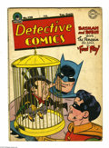 Golden Age (1938-1955):Superhero, Detective Comics #120 (DC, 1947) Condition: VG. Penguin cover by Win Mortimer. Mortimer, John Daly, Curt Swan art. Overstree...