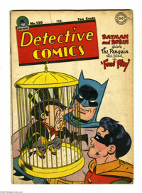 Detective Comics #120 (DC, 1947) Condition: VG. Penguin cover by Win Mortimer. Mortimer, John Daly, Curt Swan art. Overs...