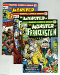 Bronze Age (1970-1979):Horror, Frankenstein Group (Marvel, 1973-75) Condition: Average VF/NM.Sixteen-issue lot includes #1, 3, 4, 5, 6, 7, 8, 9, 10, 11, 1...(16 Comic Books)