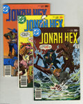 Bronze Age (1970-1979):Western, Jonah Hex Group (DC, 1977-79) Condition: Average VF+. Ten-issue lot includes #6, 8 (origin of Jonah Hex's facial scar), 9, 1... (10 Comic Books)