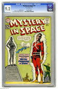 Silver Age (1956-1969):Science Fiction, Mystery in Space #79 (DC, 1962) CGC NM- 9.2 Off-white pages.Carmine Infantino cover and art. Overstreet 2005 NM- 9.2 value ...