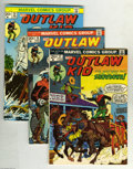 Bronze Age (1970-1979):Western, Outlaw Kid Group (Marvel, 1973-74) Condition: Average VF/NM. Seven-issue lot includes #17, 18, 20, 21, 22, 23, and 24. Appro... (7 Comic Books)