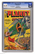 Golden Age (1938-1955):Science Fiction, Planet Comics #61 (Fiction House, 1949) CGC FN 6.0 Off-white pages.George Evans, Graham Ingels, and Leonard Star art. Overs...