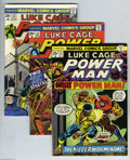 Bronze Age (1970-1979):Superhero, Power Man Group (Marvel, 1974-76) Condition: Average VF/NM.Fourteen-issue lot includes #21, 22, 23, 24, 25, 26, 27, 28, 29,...(14 Comic Books)