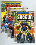 Bronze Age (1970-1979):Cartoon Character, Shogun Warriors #1-9 Group (Marvel, 1979) Condition: Average NM-.Issues #1, 2, 3, 4, 5, 6, 7, 8, and 9 are included here. A... (9Comic Books)