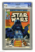 Modern Age (1980-Present):Science Fiction, Star Wars #35 (Marvel, 1980) CGC NM+ 9.6 White pages. First face toface meeting of Luke Skywalker and Darth Vader. Carmine ...