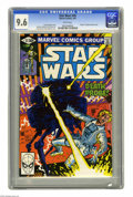 """Modern Age (1980-Present):Science Fiction, Star Wars #45 (Marvel, 1981) CGC NM+ 9.6 White pages. """"Death"""" ofAdmiral Damon Krell. Larry Hama and Al Milgrom cover. Carm..."""