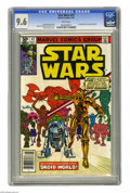 Modern Age (1980-Present):Science Fiction, Star Wars #47 (Marvel, 1981) CGC NM+ 9.6 White pages. Firstappearance of Captain Kligson. Walt Simonson cover art. Carmine ...