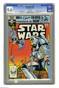 Modern Age (1980-Present):Science Fiction, Star Wars #53 (Marvel, 1981) CGC NM+ 9.6 White pages. First appearance of Aron, Lady Alisande, Keral Longknife, Jain Havero,...