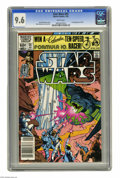 Modern Age (1980-Present):Science Fiction, Star Wars #55 (Marvel, 1982) CGC NM+ 9.6 White pages. Firstappearance of Plif. Walt Simonson cover and art. Overstreet 2005...