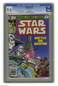 Modern Age (1980-Present):Science Fiction, Star Wars #57 (Marvel, 1982) CGC NM+ 9.6 White pages. Lobot andShira Brie appearance. Walt Simonson cover and art. Overstre...