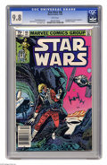 Modern Age (1980-Present):Science Fiction, Star Wars #66 (Marvel, 1982) CGC NM/MT 9.8 White pages. Firstappearance of Darial Anglethorn and Gideon Longspar. Tom Palme...