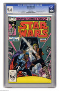 Modern Age (1980-Present):Science Fiction, Star Wars #71 (Marvel, 1983) CGC NM+ 9.6 White pages. Rik Duel,Dani, Chihdo, IG-88, Bossk, and Drebble appearance. Tom Palm...