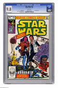 Modern Age (1980-Present):Science Fiction, Star Wars #73 (Marvel, 1983) CGC NM/MT 9.8 White pages. Daniappearance. Tom Palmer cover. Ron Frenz and Palmer art. This is...