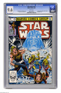 Modern Age (1980-Present):Science Fiction, Star Wars #74 (Marvel, 1983) CGC NM+ 9.6 White pages. Firstappearance of Mone, Primor, Kendle, and Admiral Tower. Tom Palme...