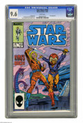 Modern Age (1980-Present):Science Fiction, Star Wars #102 (Marvel, 1985) CGC NM+ 9.6 White pages. Kiroappearance. Kerry Gammill cover. Sal Buscema art. Overstreet 20...