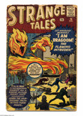 Silver Age (1956-1969):Horror, Strange Tales #76 (Marvel, 1960) Condition: FR. Prototype issue(Human Torch). Jack Kirby and Dick Ayers cover. Kirby, Steve...