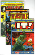 Bronze Age (1970-1979):Horror, Supernatural Thrillers #1, 2, 9, and 13 Group (Marvel, 1972-75)Condition: Average VG. This group consists of five comics: #... (5Comic Books)