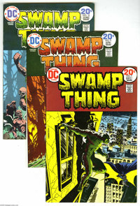Swamp Thing Group (DC, 1973-75). This group includes #7 (Batman appearance), 9, 10, 11, 13, 14, 15, 16, and 17. Issues #...