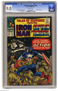 Silver Age (1956-1969):Superhero, Tales of Suspense #86 (Marvel, 1967) CGC VF/NM 9.0 Off-white pages.Mandarin appearance. Jack Kirby cover. Kirby, Gene Cola...