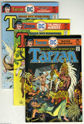 Bronze Age (1970-1979):Miscellaneous, Tarzan Group (DC, 1975-77) Condition: Average VF+. This groupincludes #242, 245, 248, 253, 255, 256, and 258 (the last DC i...(7 Comic Books)