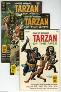 Silver Age (1956-1969):Adventure, Tarzan of the Apes Group (Gold Key, 1967-71). This group includes #158 (GD, foxing), #172 (FN), 173 (FN/VF), 175 (PR, half o... (6 Comic Books)