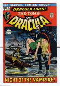 Bronze Age (1970-1979):Horror, Tomb of Dracula #1 (Marvel, 1972) Condition: VF-. First appearance of Dracula and Frank Drake. Neal Adams cover. Gene Colan ...