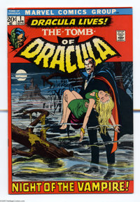 Tomb of Dracula #1 (Marvel, 1972) Condition: VF-. First appearance of Dracula and Frank Drake. Neal Adams cover. Gene Co...