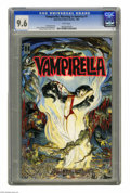 Modern Age (1980-Present):Horror, Vampirella: Morning in America #1 (Dark Horse-Harris Comics, 1991)CGC NM+ 9.6 White pages. Painted cover by Michael Kaluta...