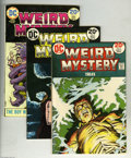 Bronze Age (1970-1979):Horror, Weird Mystery Tales Group (DC, 1973-75). Condition: Average VF+.Twelve-issue lot includes # 7, 8, 9, 10, 11, 12, 13, 14, 15... (12Comic Books)
