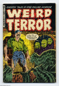 "Golden Age (1938-1955):Horror, Weird Terror #1 (Comic Media, 1952) Condition: FN. Contains""Portrait of Death"", adapted from H. P. Lovecraft's ""Pickman's M..."