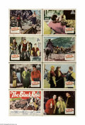 "Movie Posters:Adventure, The Black Rose (20th Century Fox, 1950) Lobby Card Set of 8 (11"" X14""). This is a vintage, theater used lobby card set for ... (8items)"