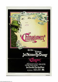"""Movie Posters:Film Noir, Chinatown (Paramount, 1974) One Sheet (27"""" X 41""""). This is a vintage, theater used poster for this crime/mystery drama that ..."""