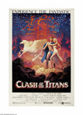 "Movie Posters:Fantasy, Clash of the Titans (MGM, 1981) Poster (40"" X 60""). This is avintage, theater used poster for this fantasy adventure that w..."