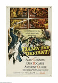 """Movie Posters:Adventure, Damn the Defiant! (Columbia, 1962) One Sheet (27"""" X 41""""). This is avintage, theater used poster for this adventure drama th..."""