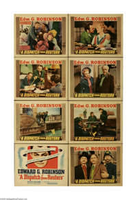 """A Dispatch from Reuters (Warner Brothers, 1940) Lobby Card Set of 8 (11"""" X 14""""). This is a vintage, theater us..."""