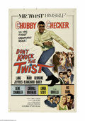 """Movie Posters:Musical, Don't Knock the Twist (Columbia, 1962) One Sheet (27"""" X 41""""). This is a vintage, theater used poster for this musical that w..."""