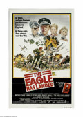 """Movie Posters:War, The Eagle Has Landed (Columbia, 1976) One Sheet (27"""" X 41""""). Thisis a vintage, theater used poster for this war adventure t..."""