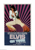 """Movie Posters:Musical, Elvis on Tour (MGM, 1972) One Sheet (27"""" X 41""""). Toward the end of the King's career, there were two documentaries made abou..."""