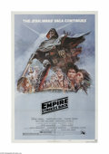 "Movie Posters:Science Fiction, The Empire Strikes Back (20th Century Fox, 1980) One Sheet (27"" X41""). Style B. This is a vintage, theater used poster for ..."
